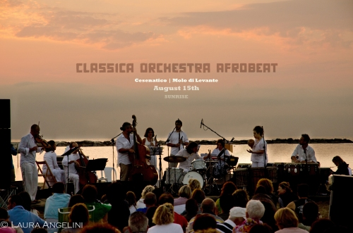 beautiful concert at sunset - Cesenatico, Italy 15/8/2012